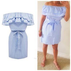 Dresses & Skirts - Striped OTS dress